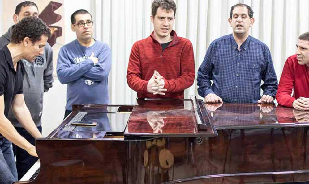 חוג פסנתר בית שקמים